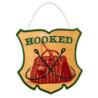 HOOKED PLAQUE