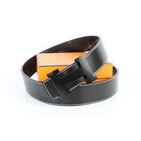 Hermes belt men's and women's casual casual style H letter fashion belt562