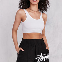 Stussy Euclid High-Rise Boxer Short | Urban Outfitters