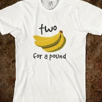 Two Bananas For A Pound