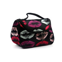 EIFFTER Professional Cosmetic Case Bag Large Capacity Portable Women Makeup Cosmetic Bags Storage Travel Bags DJ00045