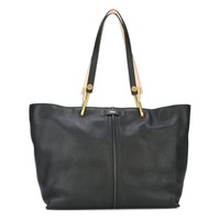 Chloé Black Leather Medium Keri Tote