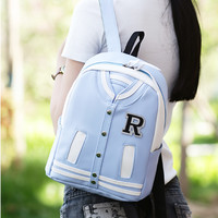 Korean clothes schoolbags