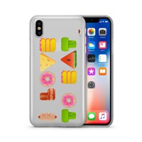I Love To Eat - Clear TPU Case Cover