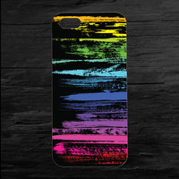 Neon Paint Smear Phone 4 and 5 Case
