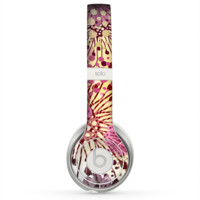 The Colorful Translucent Water-Flowers Skin for the Beats by Dre Solo 2 Headphones