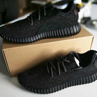 Adidas yeezy boost 350 men and women tide brand fashion trend classic sports running casual shoes F