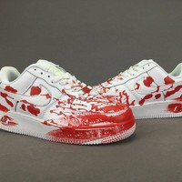 Women's and men's nike air force 1 cheap nike shoes 097