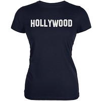 Hollywood Navy Juniors Soft T-Shirt