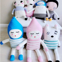 Lucky Boy Dolls Peluche Hand Knitted kids Toys