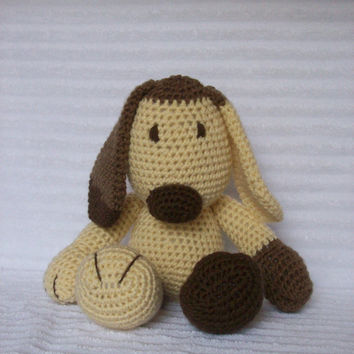 Crochet Animal, Crochet Dog Stuffed Animal, Dog Plush, Crochet Puppy, Stuffed Dog, Puppy Plush, Dog Plush MADE TO ORDER
