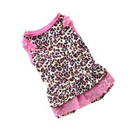 Cute Leopard Summer Dog Dress
