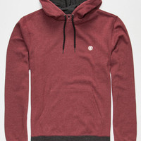 Element Cornell Mens Hoodie Wine  In Sizes