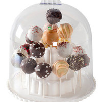 Cake Pop Display Stand With Dome Lid