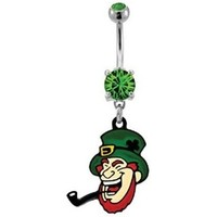 Leprechaun Belly Button Ring