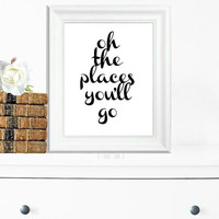 Inspirational Print, Wall Decor, Typography Wall Art, Motivational Print, Inspirational Poster, Teen Gift Ideas, Shabby Chic - PT0065