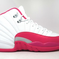 Air Jordan 12 Retro Valentines Day GG GS Basketball Shoes <>