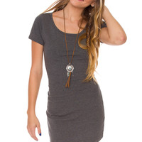 Kadence Dress - Grey