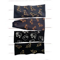 Zoo Collection Antimicrobial Yoga Headband