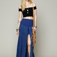 Free People Back Chat Maxi Skirt