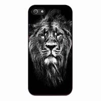 Male Asiatic Lion for Iphone 5 Case *NP*