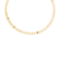Five and Two Chain Choker Necklace in Gold | REVOLVE