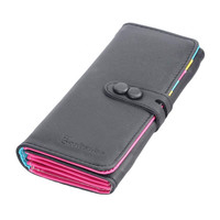 Leather Famous Design Lovely Printing Women Wallet,Long Draw-Out Type Female Wallet Clutch Purses Carteira Feminina #2415
