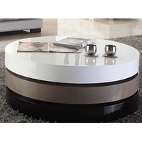 Rotatable Creative Round Coffee Table