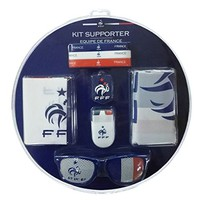 FFF Kit Officiel de Supporter : Bracelets, Drapeau, Peinture...