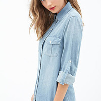 Collared Chambray Shirt