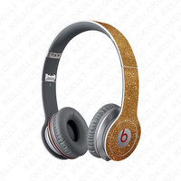 Beats Solo Sparkling Gold Full Headphone Wrap (Headphones Not Included)