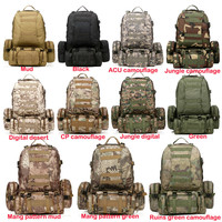 MOLLE Outdoor Military Tactical Rucksacks Backpack Camping Bag Large