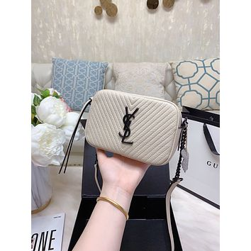 ysl women leather shoulder bag satchel tote bag handbag shopping leather tote crossbody satchel shouder bag 81
