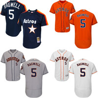 2017 Hall Of Fame Induction Throwback Jeff Bagwell Jersey , Men's #5 Mitchell And Ness MLB Houston Astros
