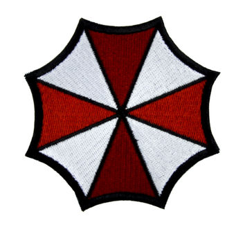 Resident Evil Umbrella Corp. Patch Iron on Applique Alternative Clothing