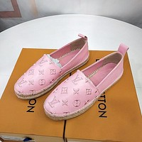 Louis Vuitton LV thermal Martin boots silk letters fisherman shoes series women's shoes