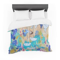 "Kira Crees ""Origami Strings"" Cotton Duvet"