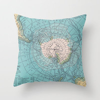 Bottom's Up Throw Pillow by Catherine Holcombe | Society6