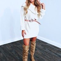 Can't Keep My Eyes Off You Dress: Ivory