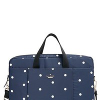 kate spade new york dot print laptop bag (15 Inch) | Nordstrom