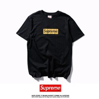 kuyou Supreme T-Shirt  Logo Box Golden