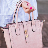 Posh Professional Purse, Blush