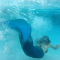 Grow a Tail Mermaid Tails - SWIMMABLE - Custom Made!