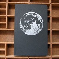 Letterpress Notebook La Luna