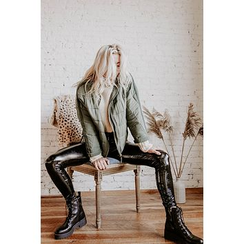 Harley Patent Leather Pants