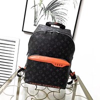 LV Shoulder Bag Student Bag Lightwight Backpack Womens Mens Bag Travel Bags