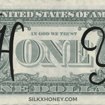 Money Honey Sticker