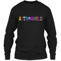Funny Astroworlds  Hip-hop Fans LS Ultra Cotton Tshirt