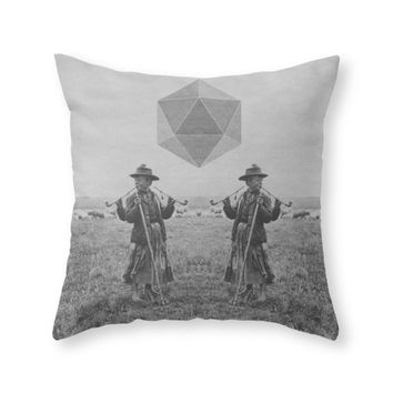 Society6 Never Trust A Th Throw Pillow