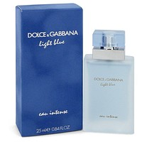 Light Blue Eau Intense by Dolce & Gabbana Eau De Parfum Spray .84 oz